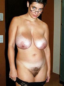 very hirsute cunt - hairy mature women get access to some real